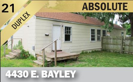 4430 E Bayley St Wichita Ks 67218 Mccurdy Auction Real Estate Specialists