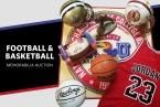 McCurdy Auction - Football & Basketball Autographed Memorabilia Auction