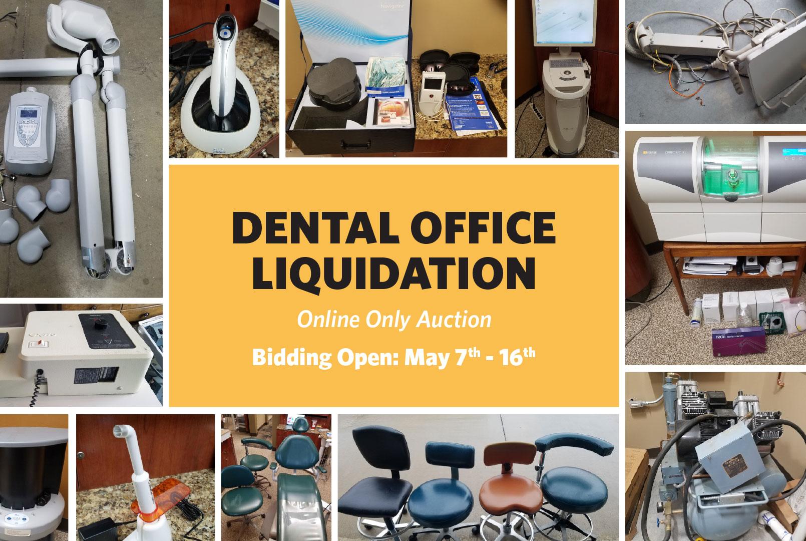 McCurdy Auction - Dental Office Liquidation